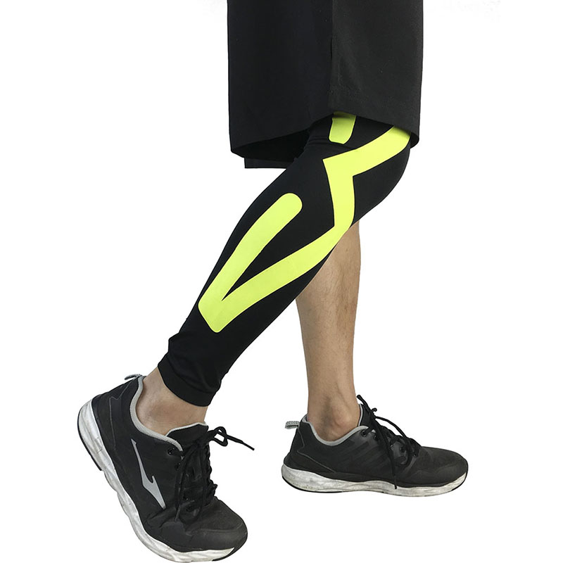 Breathable Long Knee Legwarmers Sports Protectors Compression Calf Sleeve Volleyball Football Running Knee Supports New