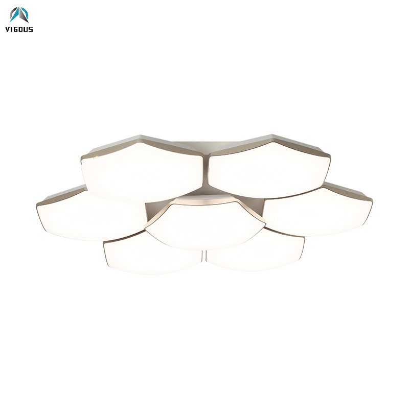 Modern Acrylic Metal Led Dimmable Ceiling Light Living Room Deco Lamparas Luminarias Remote Control Dimmable Ceiling FixturesModern Acrylic Metal Led Dimmable Ceiling Light Living Room Deco Lamparas Luminarias Remote Control Dimmable Ceiling Fixtures