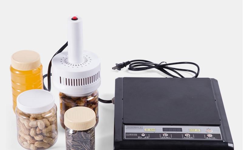 DL-500 220V elektromagnetyczna zgrzewarka indukcyjna Cap sealer uszczelnienie butelki z folii aluminiowej (rozmiar uszczelki: 20-100mm)