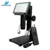 New HDMI AV Microscope Long Object Distance Digital USB Microscope For Mobile Phone Repair Soldering Tool