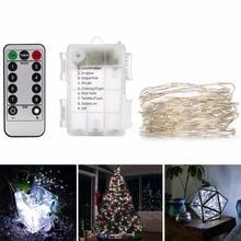5M LED מחרוזת פיה סוללות PowerLights עם שינויי מחנאות מרחוק הוביל decoracion השנה החדשה חג המולד אור חג המולד בחוץ luminaria