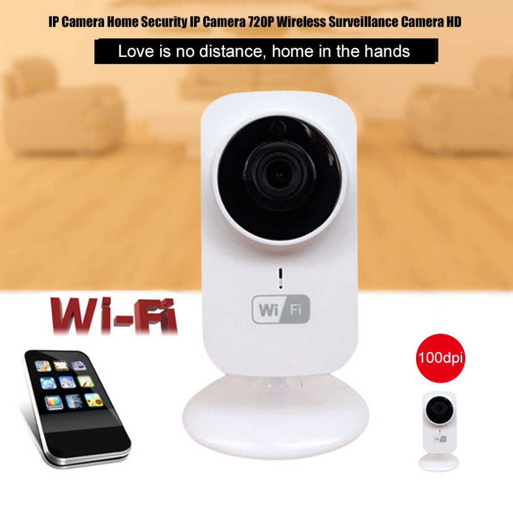 Home Security IP Camera Wireless Mini IP Camera Surveillance Camera Wifi HD 720P Night Vision CCTV Camera Baby Monitor US/EU  new home security ip camera wireless wifi camera surveillance 720p night vision cctv baby monitor hd infrared video surveillance