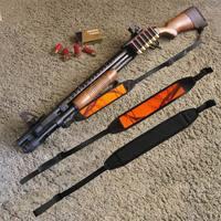 Adjustable Rifle Sling Strap Length Black And Orange