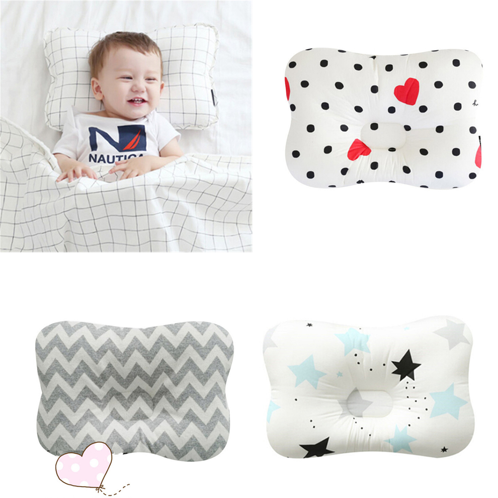 Breathable Baby Pillow Nursing Pillow Newborn Infant Headrest Sleeping Positioner Baby Pillow To Prevent Flat Head Bedding