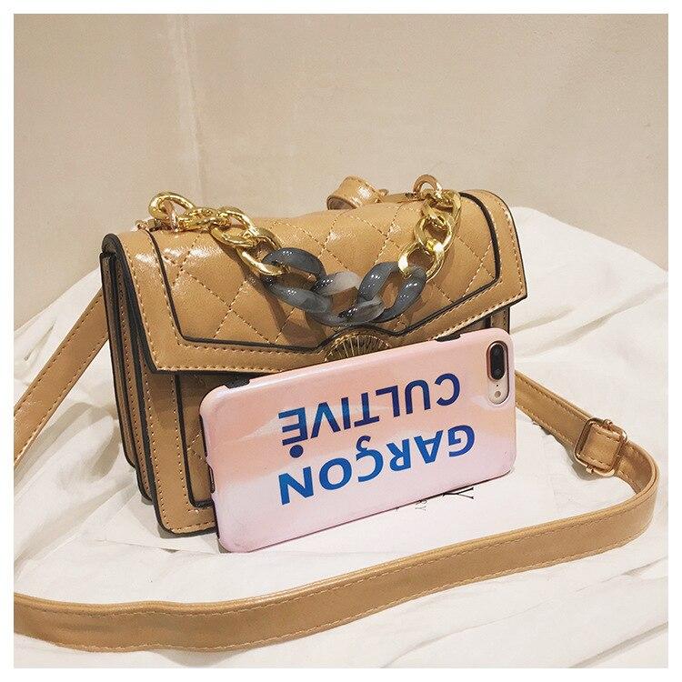 Women's Designer Luxury Channels Bags Shoulder Handbag for Women Quilted Leather Crossbody Flap Bag Fashion PU Lock Tote Handbag (7)