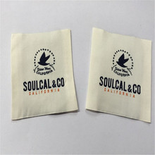 Customized Garment Label High Density Woven