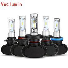цена на S1 h1 led h11 H4 H7 H8 H9 H13 9005/HB3 9006/HB4 9012 800/881 50w 8000lm led headlight Auto car light bulb Fog Light