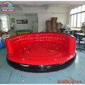 4*1 м красный цвет надувная буксируемая труба crazy UFO  летающая лодка надувной водный диван для летнего аквапарка