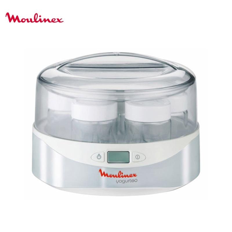 Yougurt maker MOULINEX YG230131 yogurt thermoregulator jars yogurt glass kitchen appliances appliances for kitchen ki bottles jars