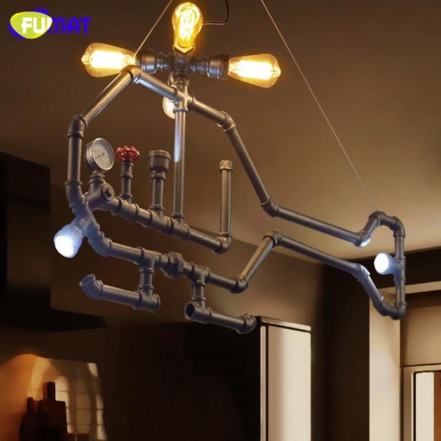 Aliexpress.com : Buy FUMAT Iron Aircraft Pendant Light Loft ...