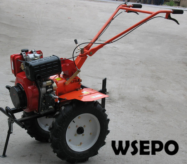 OEM Quality&Factory Direct Supply! 186F 9HP 6.6KW Diesel Engine Powered 1WG4.0-135FC Farm Cultivator,Garden Mini Rotary Tiller