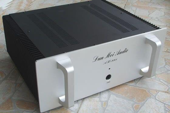 AMP случай 405*370*160 мм ar998 Полный усилитель алюминиевое шасси/Hi-Fi усилитель шасси/внешний радиатор/Усилители домашние корпус/