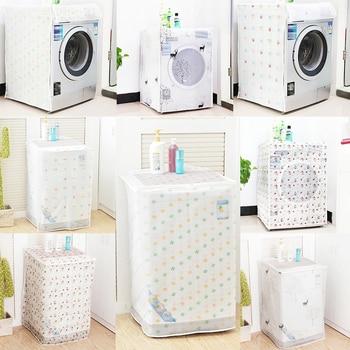 Transparent Waterproof Washing Machine Cover