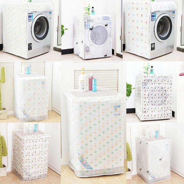 Copertura della lavatrice impermeabile trasparente 60*56*83 cm girante protezion