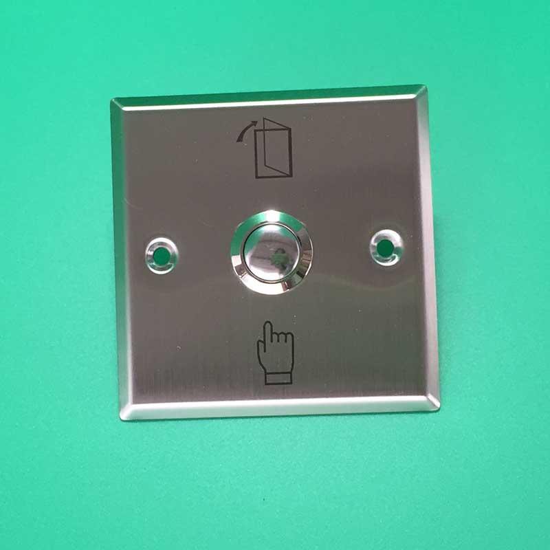 No/COM Нержавеющаясталь Дверь Выход Кнопка включения аварийной кнопочный переключатель для домашней системы безопасности