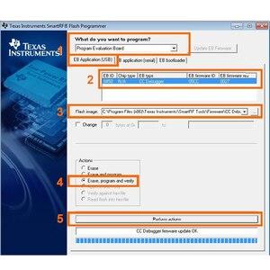 Image 4 - CC hata ayıklayıcı Zigbee emülatörü desteği çevrimiçi yükseltme kabuk 2540 2541 2530 protokol analizi