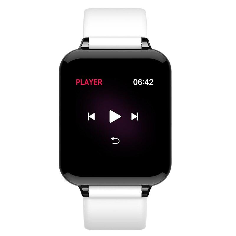 CHKEPZ B57 Smart Band 2018 Blood Pressure Smart watch Heart Rate Monitor Fitness Bracelet Men Women Sport Wristband Waterproof in Smart Wristbands from Consumer Electronics