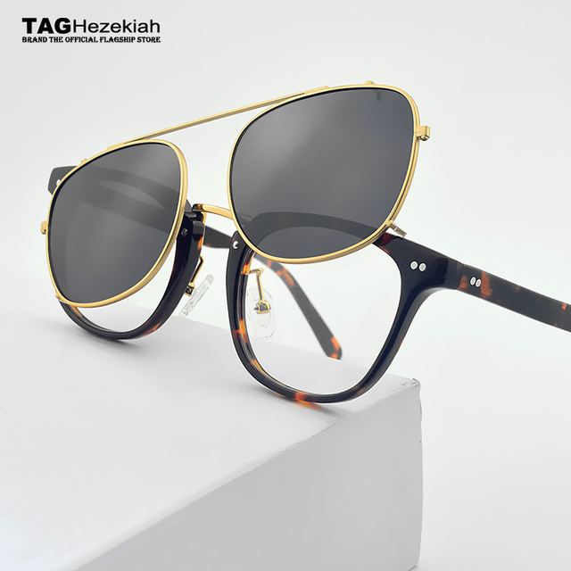 f469708fff Etiqueta 2019 Ezequías marca Retro gafas de Marco de las mujeres de los  hombres con gafas de sol de gafas polarizadas para hombre Multi-propósito  gafas