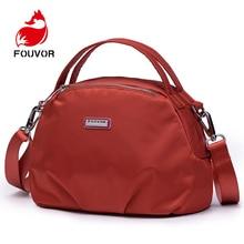 Fouvor Fashion Designer Women Handbag Female Oxford Bags Handbags Ladies Portable Shoulder Bag Office Ladies Hobos Bag Totes недорого