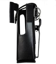 GP328 GP338 two way radio high quality leather case handheld walkie talkie leather cover