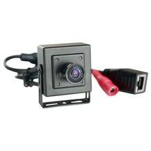 720 P HD Onvif P2P H.264 170 градусов широкий угол рыбий глаз камеры безопасности мини poe ip камеры видеонаблюдения в помещении