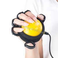 Hand Massager Ball Massage Infrared Hot Compress Hand and Fingers Dystonia Hemiplegia Stroke Physiotherapy Rehabilitation Spasm