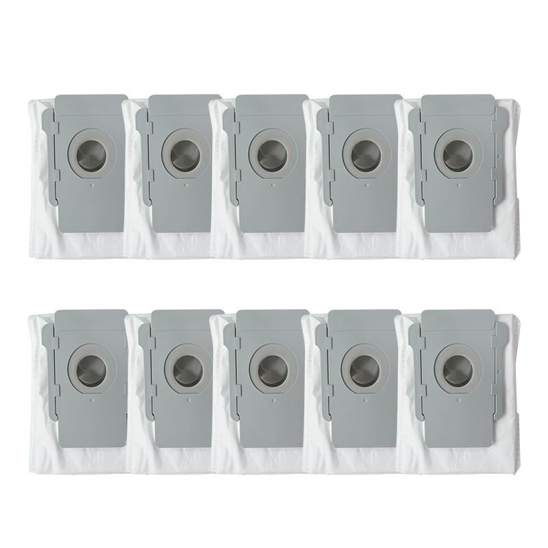 10 Pcs For Irobot Roomba I7 I7+ Plus E5 E6 Robot Vacuum Cleaner Dust Bag Filter Bags Robotic Vacuum Cleaner Bag Accessories