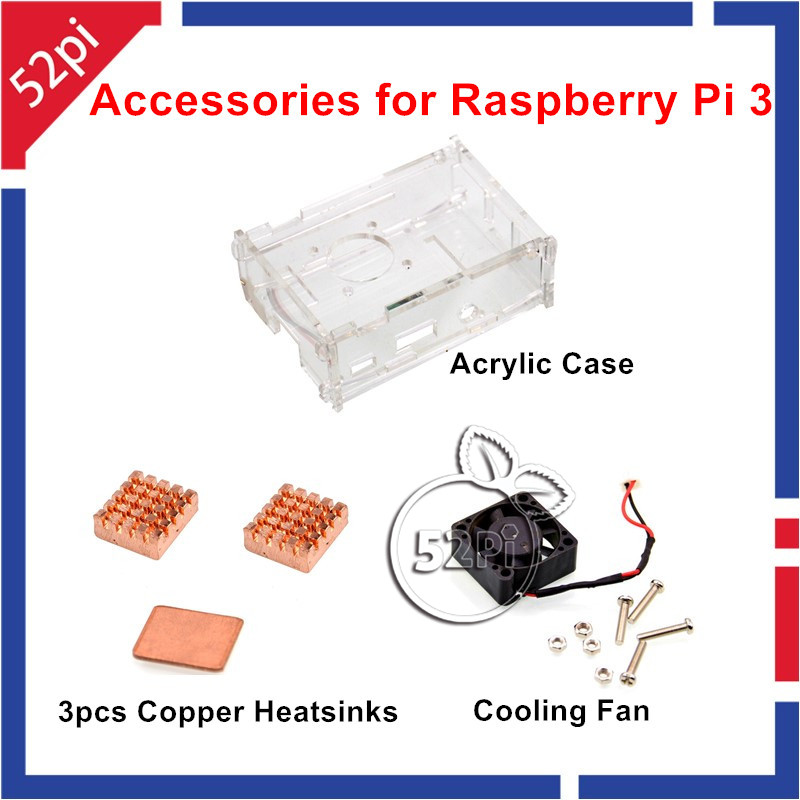 Kit de refrigeración con ventilador + cobre disipadores + estuche de ...