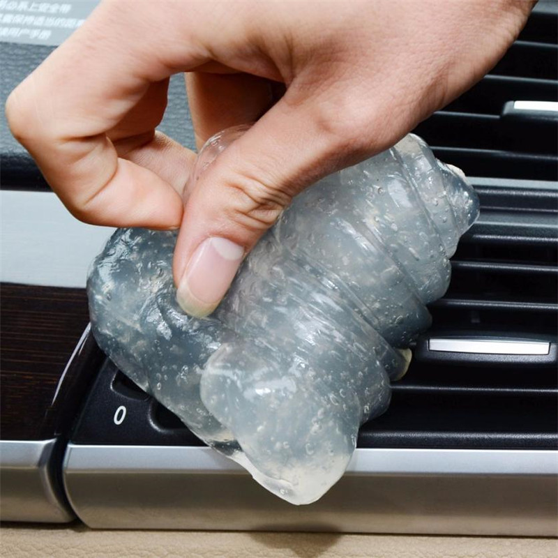 Car Glue Gum Gel for Air Conditioner Outlet Vents Interior Dust Dirt Cleaner