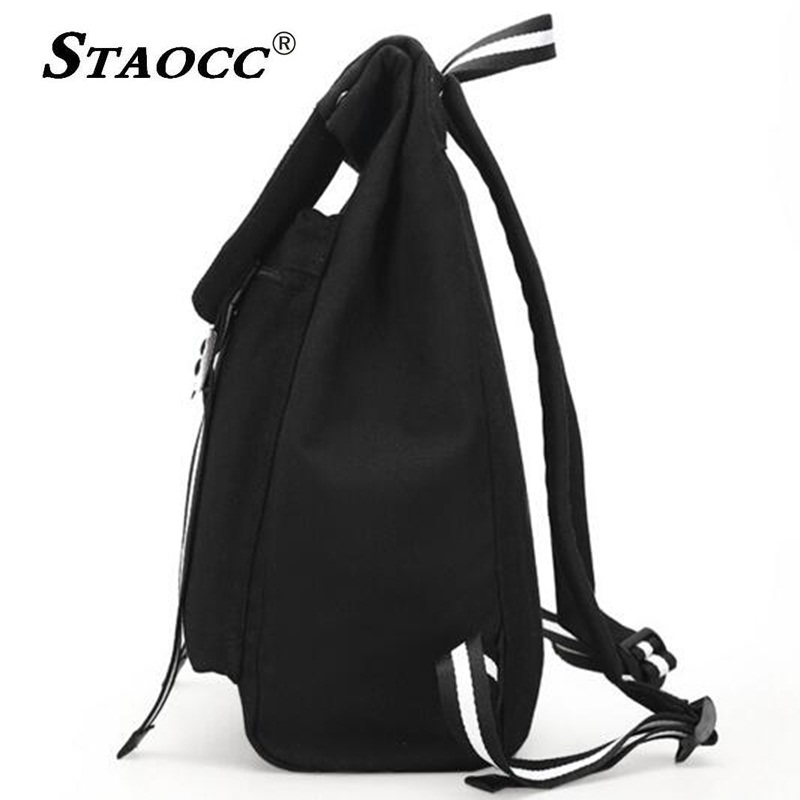 2018 BTS Backpack School Bag Canvas Brand Mochila For Teenage Girls Boys  Satchel Notebook Laptop Back pack Travel Bag Sac A Dos-in Backpacks from  Luggage ... a58345b6f41a4