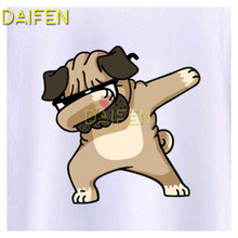 Full Square Diamond embroidery dancing dog with sunglasses DIY 3D