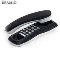 Hotel Bathroom Home Desktop Phone Telefonos De Casa Small Bedside Wall Extension Battery Landline Phone