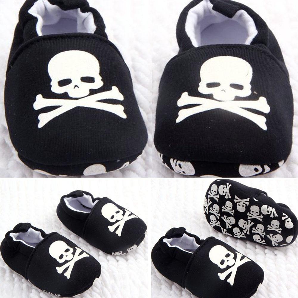Newborn Baby Girls Shoes Toddler Soft Bottom Kids Crib First Walker