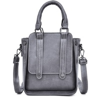 Lady Handbag Small Pu leather Solid Luxury Brand 2019 5color Woman Vintage Fashion Shoulder Travel Tote Hand Messenger Bags