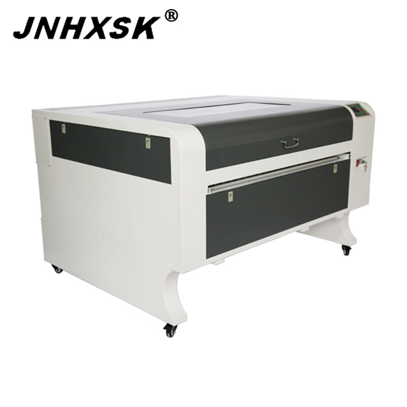 JNHXSK 130w Laser Engraving Cnc Router 1080 Long Material Pass Through Front And Back Sale RD Ruida 6442S