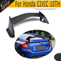 Carbon Fiber Rear wing lip Spoiler case for Honda CIVIC 10TH 2016 2017 Type R Style