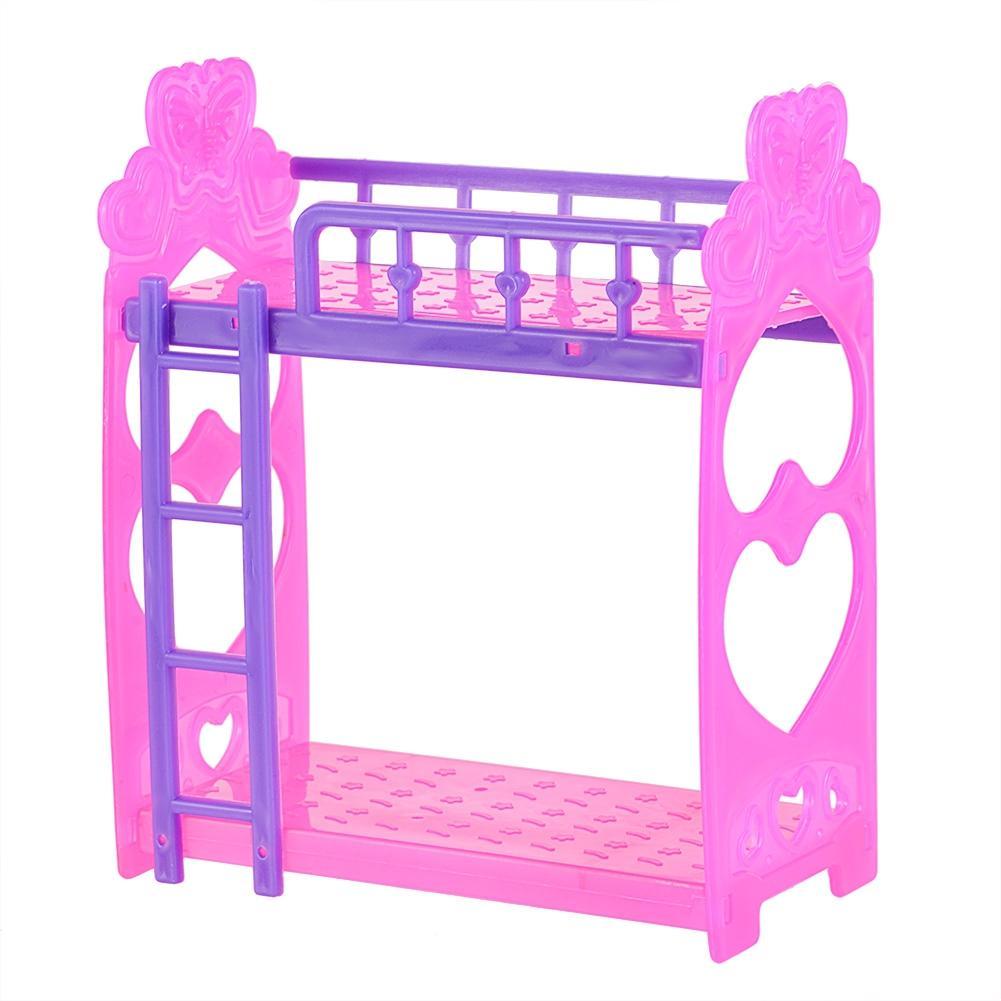 LeadingStar Plastic Dubbele Bed Frame Voor Kelly Barbie Slaapkamer ...