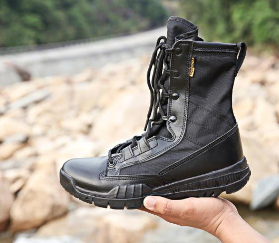 4455984819c HOT SALE] Military Tactical Boots Men Winter Motocycle Boots brown ...