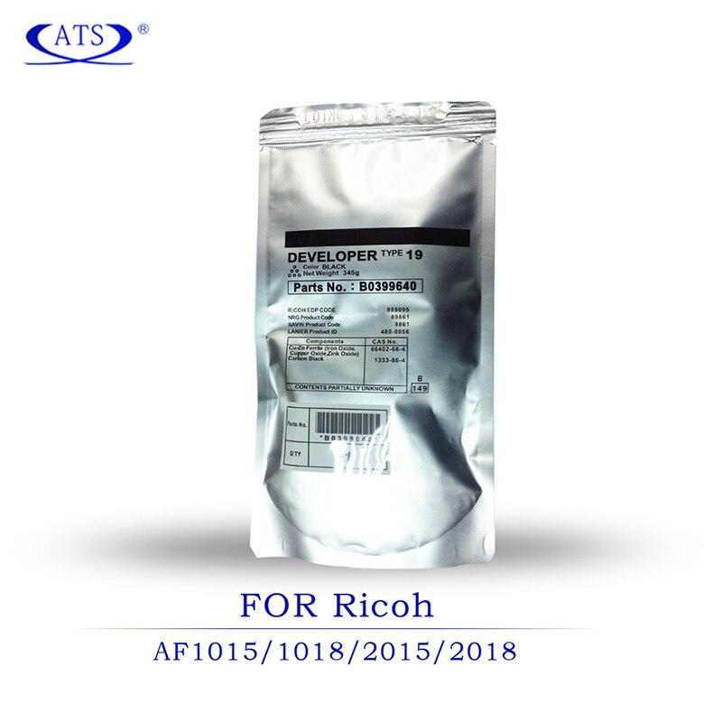 3PCS Black Developer Powder Type 19 For Ricoh Aficio AF 1015 1018 1018D 220 270 Compatible AF1015 AF1018 AF1018D AF220 AF270 in Toner Powder from Computer Office