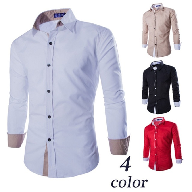 Outdoor Mens Camping Turn Down Collar Clothes Men Long Sleeve Sports Shirt Male Cutton Solid