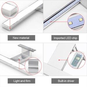 Image 5 - Warll lampe à miroir LED étanche K, blanc naturel, éclairage à miroir, éclairage pour une salle de bains