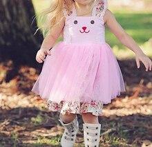 Easter Bunny Ears Tulle Tutu Pinny Dresses