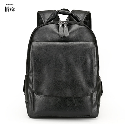 XIYUAN Fashion Men Genuine Leather Backpacks High Quality Brand Design Casual Men BACKPACK Travel Bags Vintage mochila hombre s c cotton brand backpack men good quality genuine leather