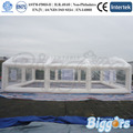 Inflatable Biggors Прозрачный Пузырь Надувная Палатка Для Посадки
