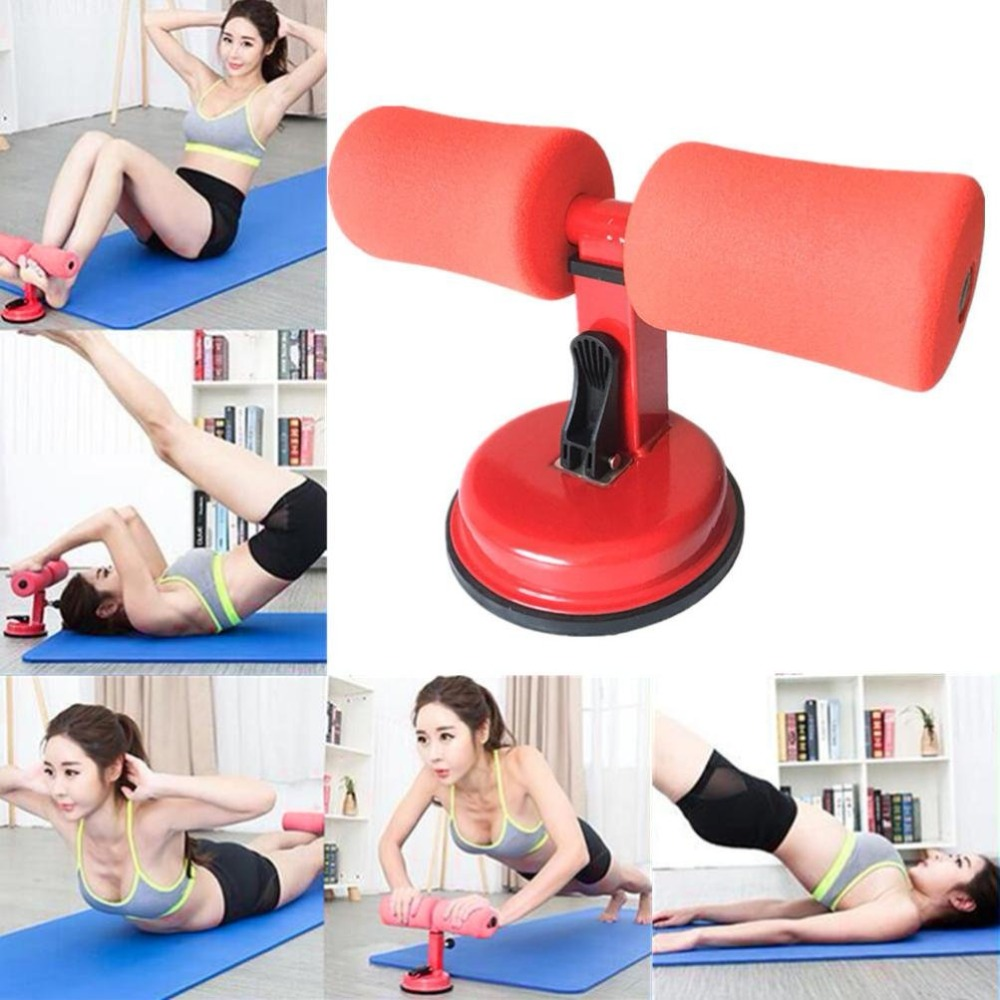 3 Colors Sit-Ups Abdominal Exercise Adjustable Assistant Equipment Suction Cup Home Fitness Workout Healthy Abdomen Lose Weight
