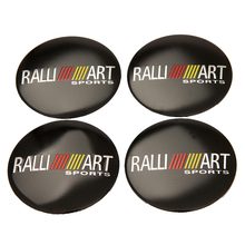 56.5mm Ralliart Aluminium Wheel Center Hub Cap Emblem Sticker For Mitsubishi ASX Lancer Pajero Outlander L200 EVO Eclipse Galant for mitsubishi lancer evo 4 5 6 aluminium radiator rad upgrade 42mm core depth 2 row r107rad