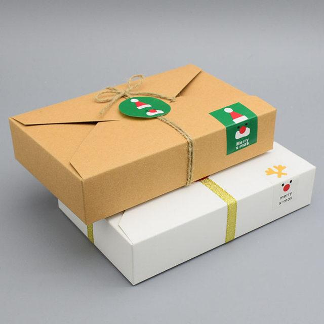Online Shop 100pcs 19.5*12.5*4CM Paper Gift Box Envelope Type Kraft ...