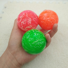 1pc Toy ball Clouds Colorful Bouncy Ball Game child elastic rubber Children kids of pinball bouncy Outdoor toys 5.5cm