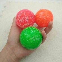 1 шт., детский эластичный резиновый мяч, 5,5 см
