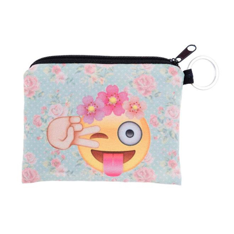 Womens Purse Ladies Cheapest Emoji Classic Retro Small Change Women Coin Purse Money Bag,Women Bag Purse For Coins Wallet